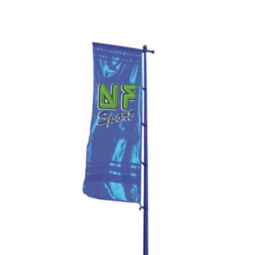 Palo conico porta bandiera