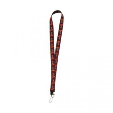 Art. 501C - Portachiavi da collo con moschettone e filo p/cellulare