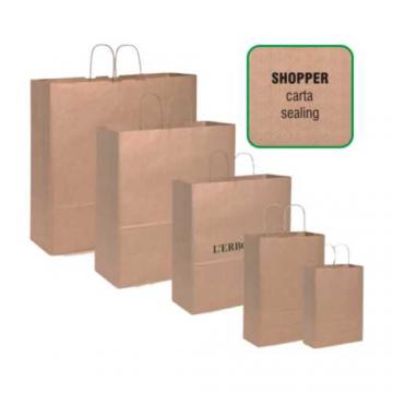 Shopper in carta sealing