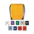Art. Q24020/SIL - Sacca in nylon con lacci e rinforzi in metallo