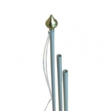 Art. 1850 - Pennone in allumino con corda