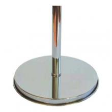 Base da terra in ottone cromato (argento)