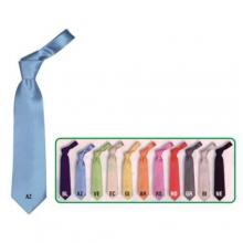 Art. 49045 - Cravatta poliestere monocolore