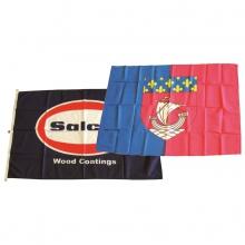 Bandiera personalizzata in poliestere nautico