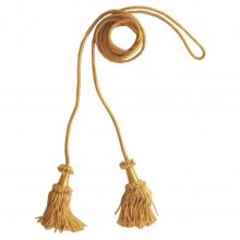 Cordone e fiocchi in oro per stendardo