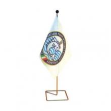 Art. PT 346 - Basetta economica in filo cromato