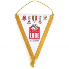 Gagliardetto triangolare con frangia e fiocco