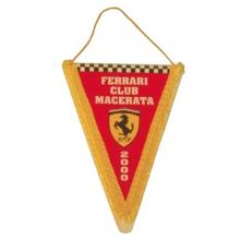 Gagliardetto triangolare con busta e frangia