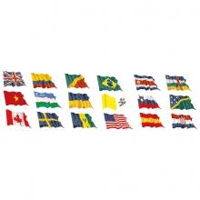 bandiere in vari formati di tutte le nazioni in tessuto leggero o nautico